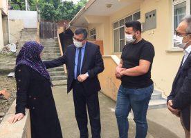 Başkan Bülent Öz'den Şehit Ailesine Ziyaret