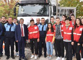 Başkan Bülent Öz ve Belediye Personelinden Kızılay Haftasında Anlamlı Bağış