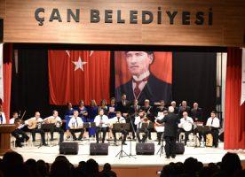 Çan Belediyesiden 24 Kasım Öğretmenler Günü Müzik Şöleni